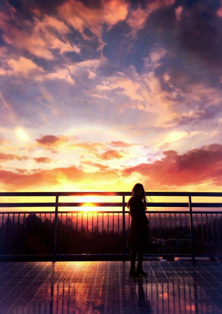 Artist Shinkai (Pixiv 16315295) Pemandangan, Langit