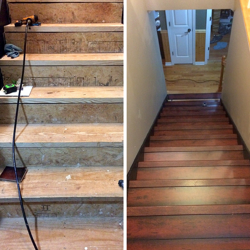 Install Laminate Flooring On Stairs, How To Instal Laminate Flooring On Stairs