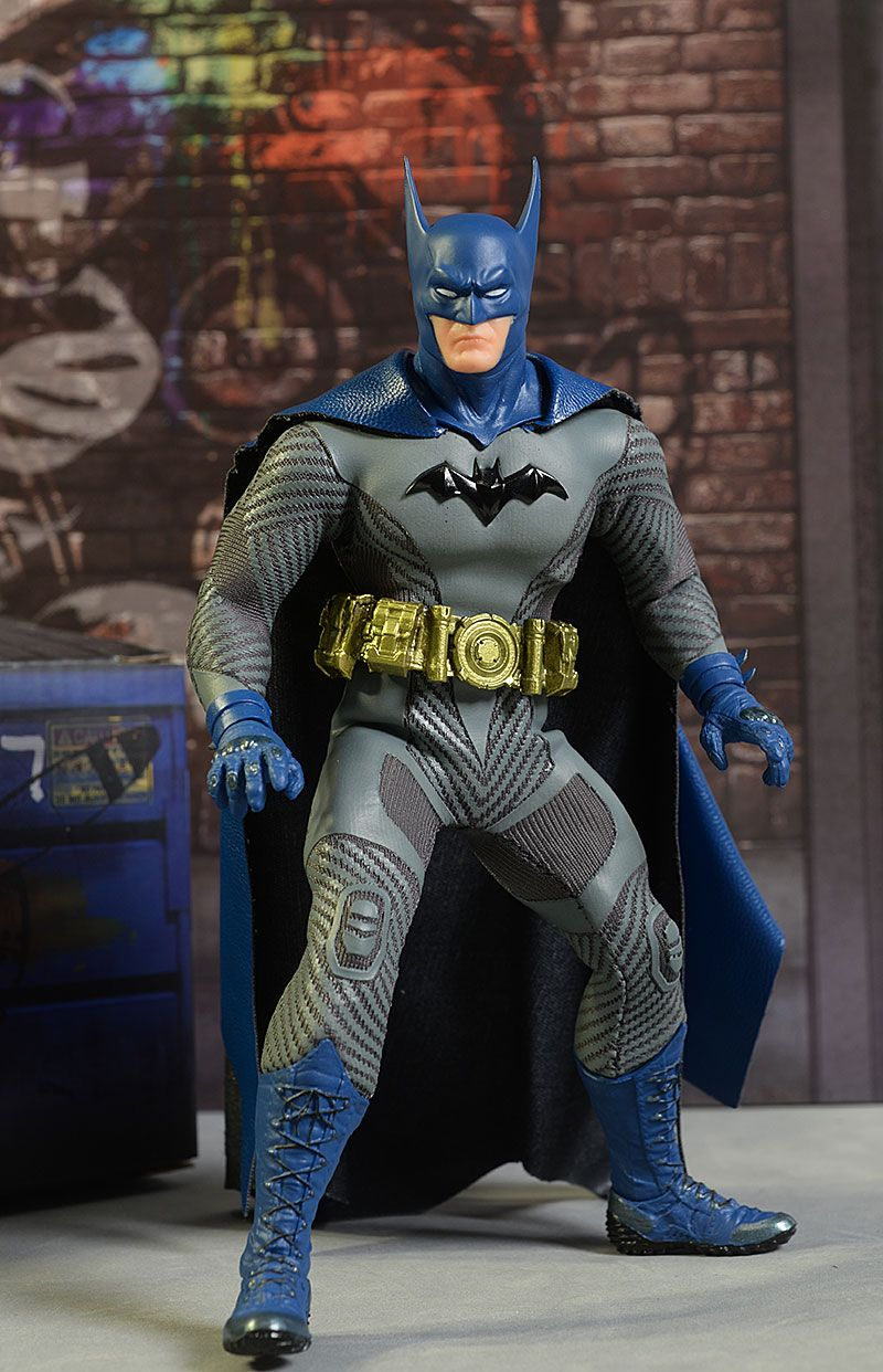 NEW MEZCO ONE-12 COLLECTIVE PX Exclusive ASCENDING KNIGHT BATMAN BLUE IN STOCK