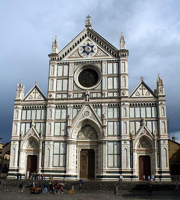 Basilica di Santa Croce, Florence | Florence italy, Italy ...