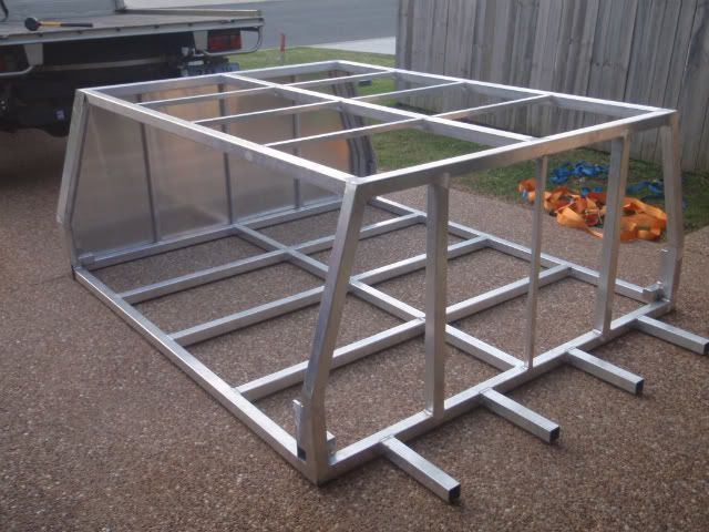 Pin by frankie braam on camper trailers ideas for Build your own canopy frame