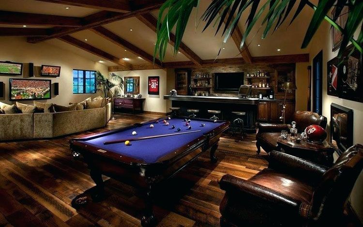 Home Ideas Review In 2020 Small Game Rooms Pool Table Room
