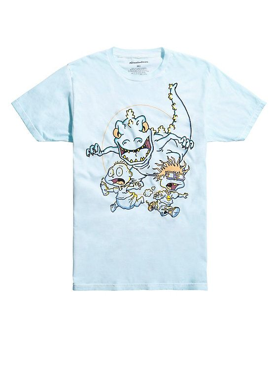 fef7ac3b1 Rugrats Running From Reptar T-Shirt | Clothes | Rugrats, Shirts, T shirt