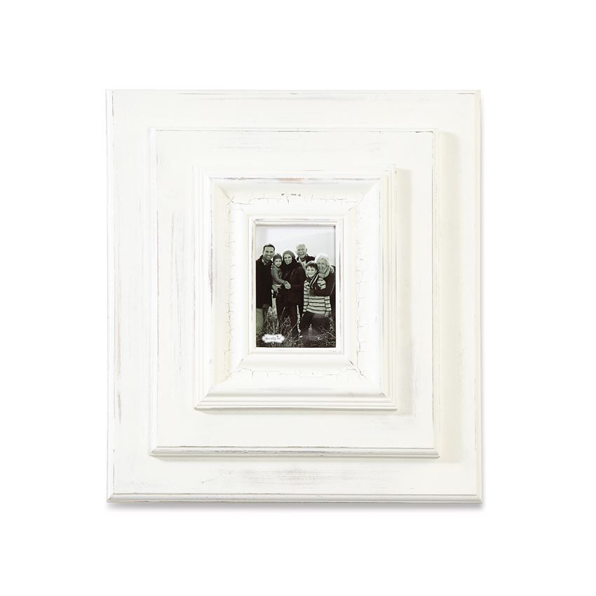 19 X 17 White Washed Wood Picture Frame Frames On Wall Wood Picture Frames Picture On Wood