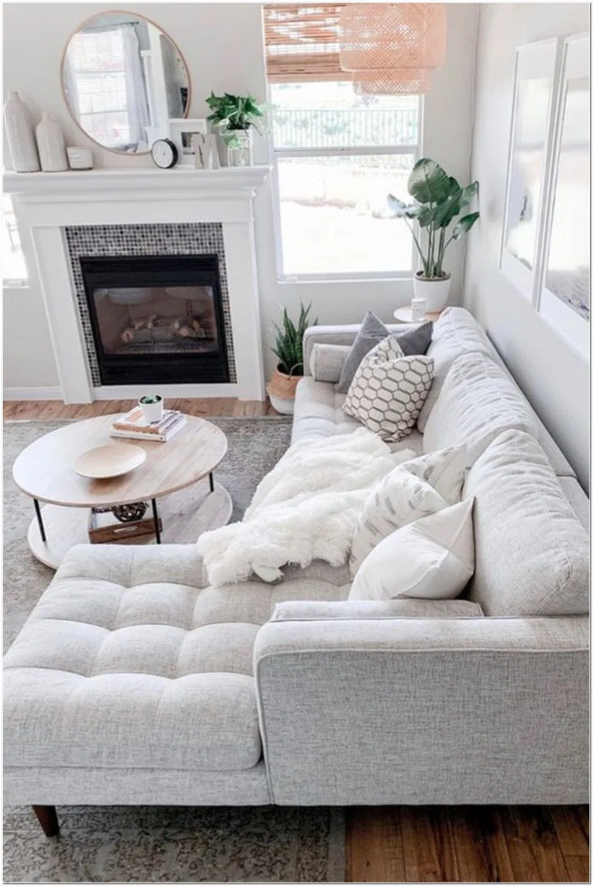 64 Small Apartment Living Rooms With The Best Space 23 Homeexalt Livingroomsmall Li In 2020 Living Room Decor Modern Farm House Living Room Family Room Decorating