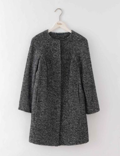 Get This Dress And Accessories At Its Fashion Metro In: NEW BODEN Sienna Herringbone Coat WE554 Clothing At Boden
