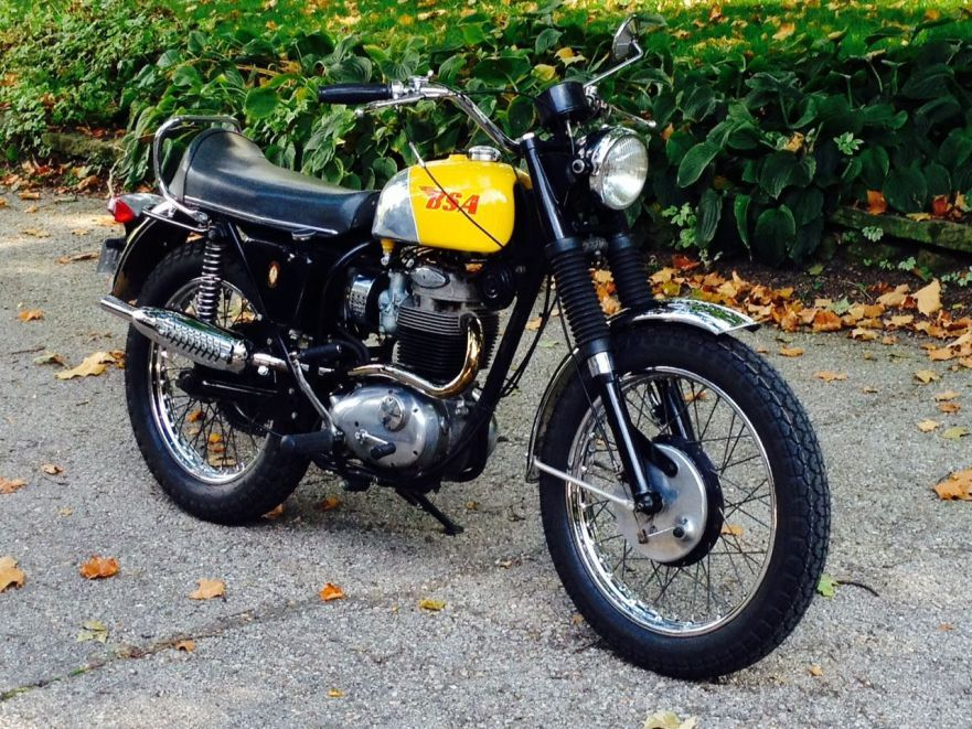 BSA 441 Victor - Front Right