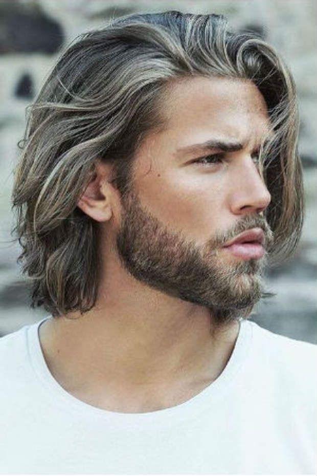 Le milong bohème Coiffure homme, Cheveux mi long homme