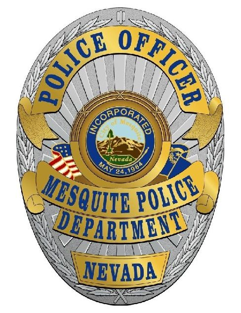 Mesquite Pd Nv Police Police Badge Badge