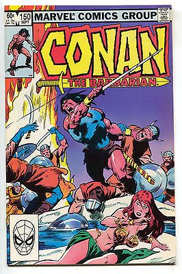 Conan The Barbarian 150 Marvel 1983 NM