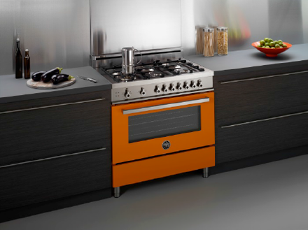 Arancio Professional Series Range   Modern   Gas Ranges And Electric Ranges    Other Metro   By Bertazzoni