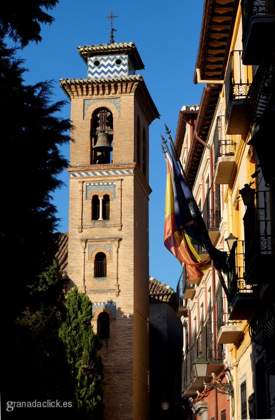 Torre de la iglesia de santa ana de granada fotos de - Santa ana granada ...