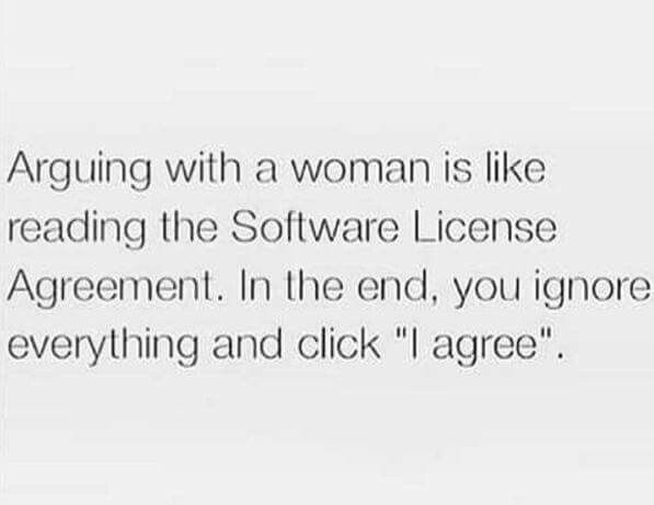 Arguing woman funny quote