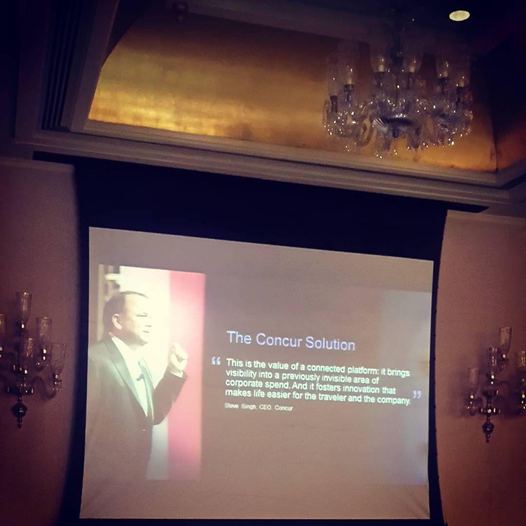 Steve Singh tells us about Concur solutions
