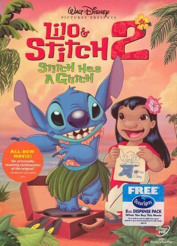 Lilo Stitch 2 Stitch Has A Glitch Dvd 2005 In 2018 Products