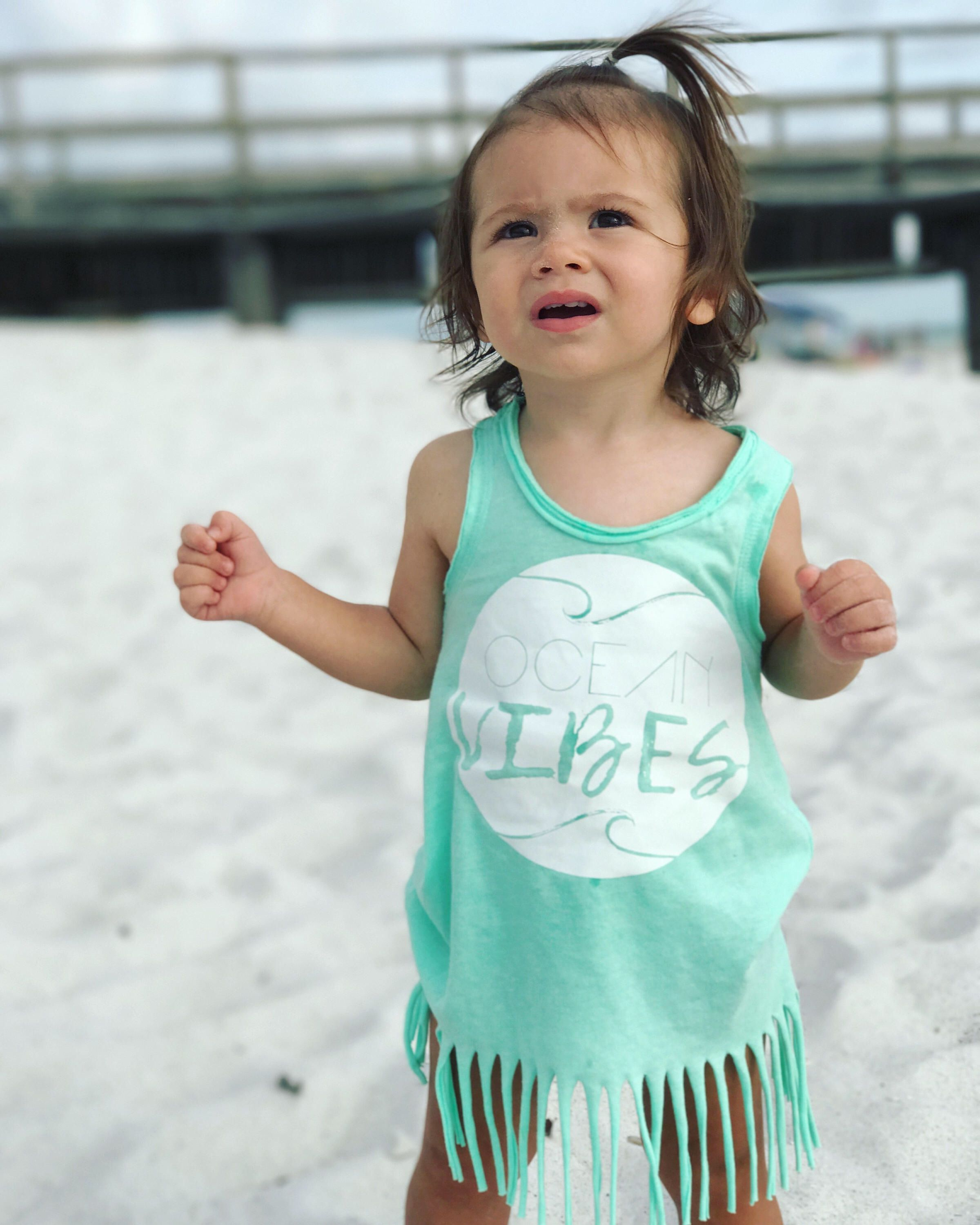 Beach Cover up Beach Baby So Cool Summer Shirt Tee Beach Top Girls Summer Top Popsicle Shirt Baby Girl Clothes Toddler Girl Clothes