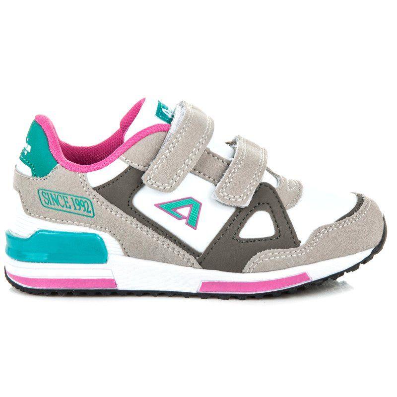 American Club Buty Sportowe Na Rzepy Wielokolorowe Baby Boy Shoes Boy Shoes Trendy Shoes