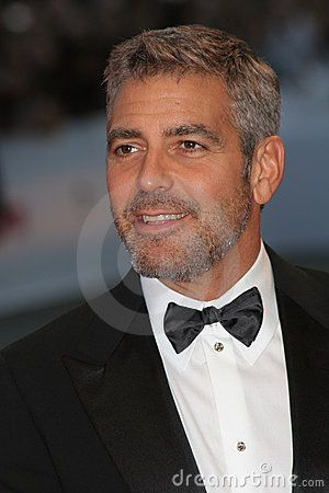 VENICE - AUGUST 31: George Clooney attends the Michael Clayton Premiere in Venice during day 3 of the 64th Venice Film Festival on August 31, 2007 in Venice, Italy.
