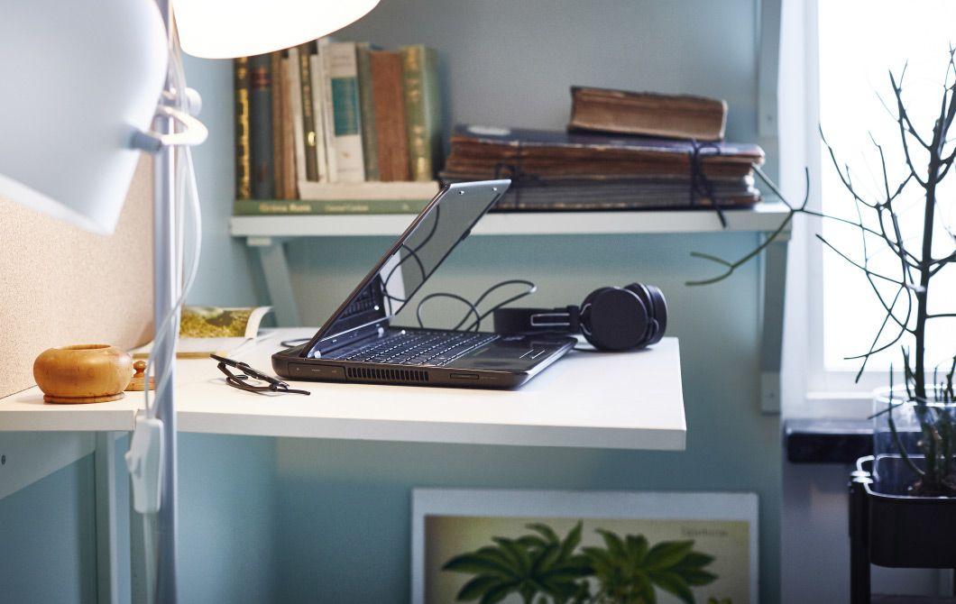 Ikea Ufficio Stampa : Postazione di lavoro in un ufficio in casa ikea interiors tips