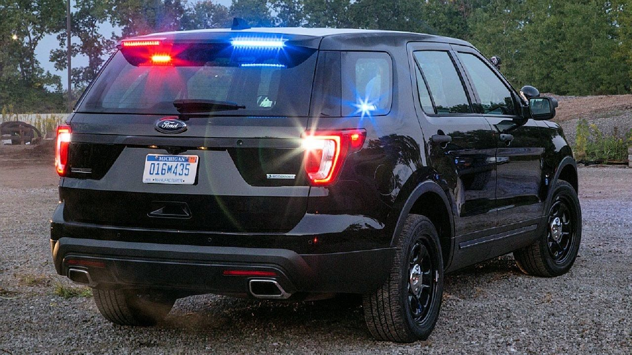 2017 Ford Explorer Police Style Awesome Led Lights Police Cars