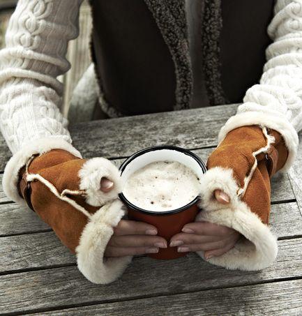 Ladies 39 Luxury Sheepskin Fingerless Gloves Nursey Sheepskin Sheepskin Gloves Fingerless Sheepskin