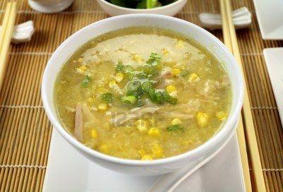 Chicken/corn soup