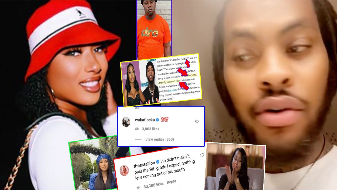 Megan Thee Made Waka Flocka Feel Like A Clown But Is This A Megan Thee Smollett Situation In 2020 Black Celebrity Gossip Waka Flocka Black Celebrities