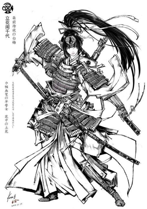 Pin De Gsus Rondan Em Samurai Ideias Para Personagens Samurai