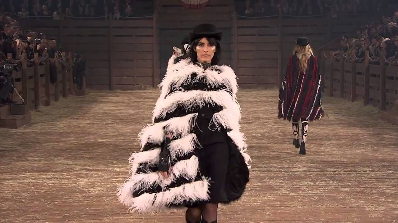 Chanel, pre collection fw 2014-15, full show, Paris/Dallas