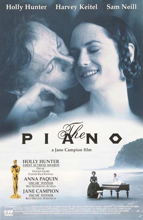The Piano Movie Posters Movies Oscar Award