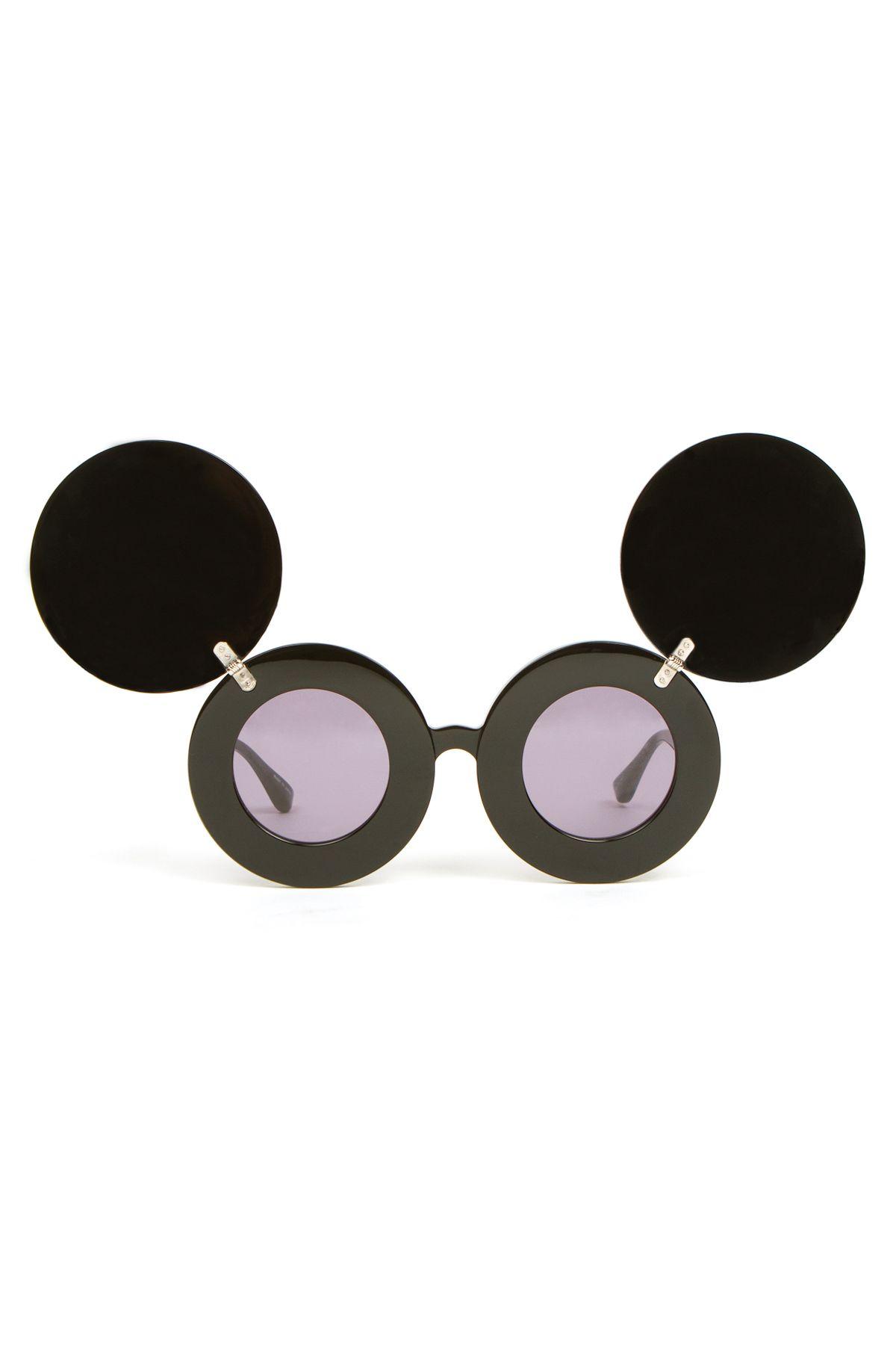 3954131a882 Linda Farrow Vintage Jeremy Scott Mickey Mouse Sunglasses