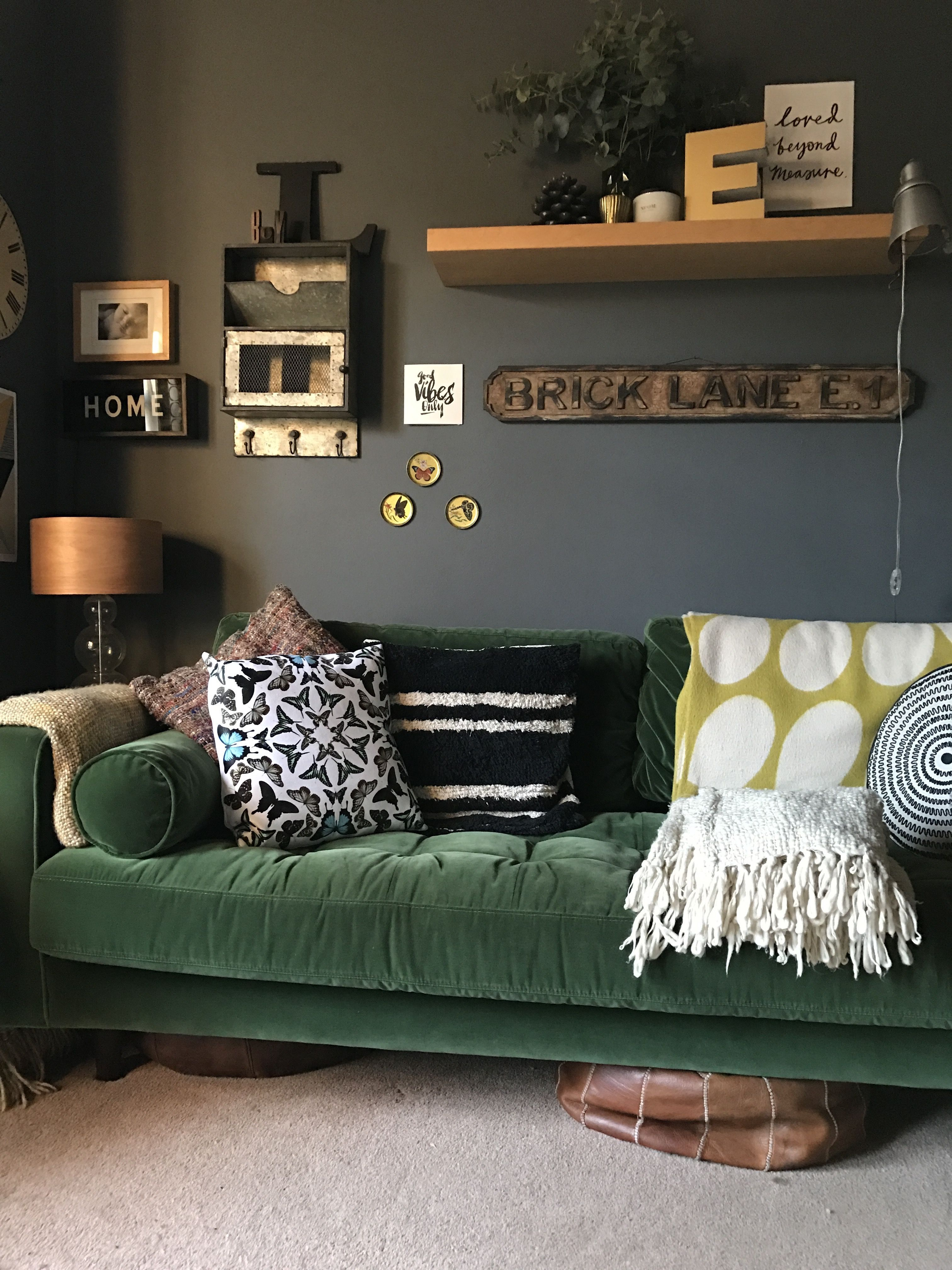 A Dark, Moody, VintageFilled Victorian in the UK