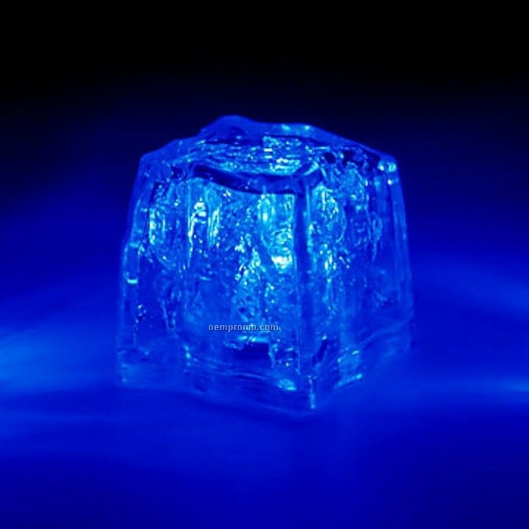 ice blue centerpieces blue 3 function light up ice cube china