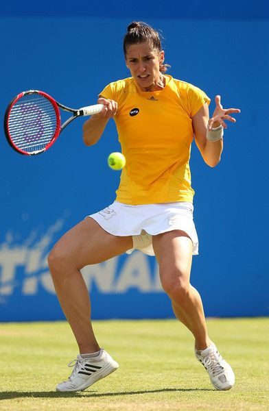 Andrea Petkovic Photos - Aegon International - Day Five - Zimbio