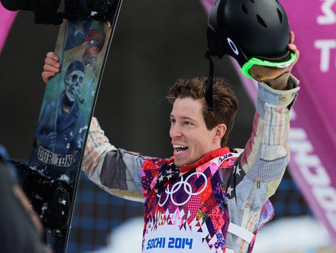 Shaun White - snowboarder, skateboarder, businessman - United States