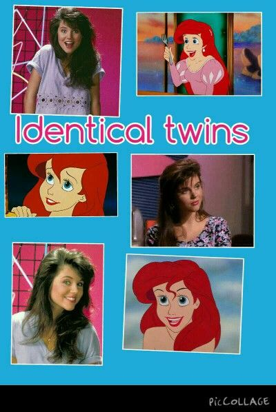 I totally think that Kelly from Saved by the Bell looks just like Ariel.