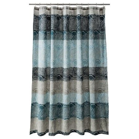 Awesome Scallop Dot Shower Curtain   Threshold™