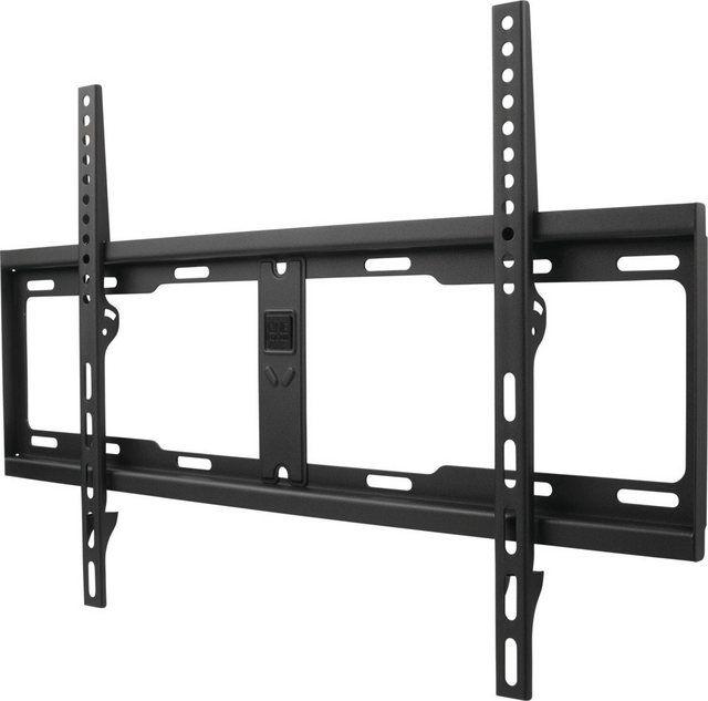 Flache Tv Wandhalterung Mit Integrierter Wasserwaage Solid Flat Tv Hifi Mobel Halterung Und Wandhalterung