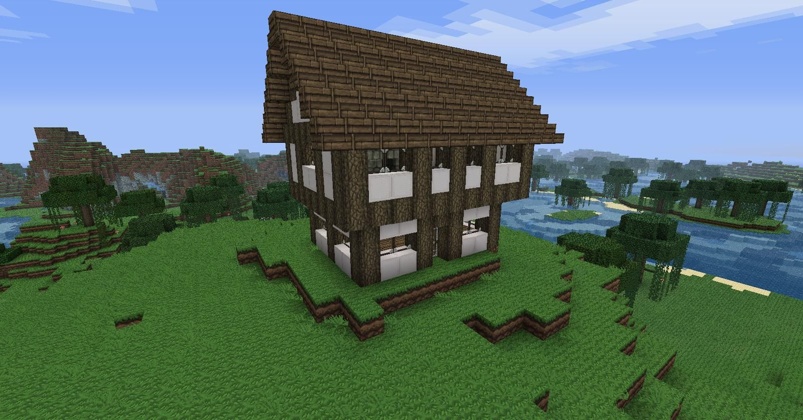 Minecraft Small Medieval House