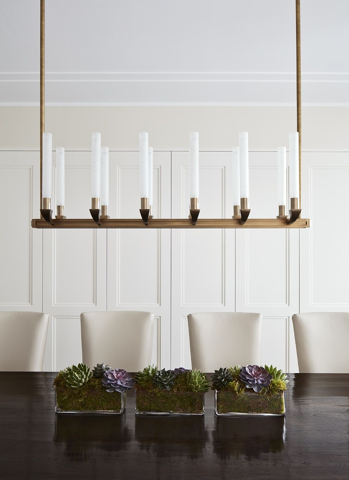 Dining Room Chandelier Detail By Inhabit Interiors Minimalist Dining Room Dining Room Chandelier Dining Room Contemporary