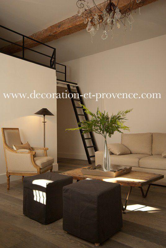 Décoration d\u0027intérieur Séjour contemporain dans un appartement en