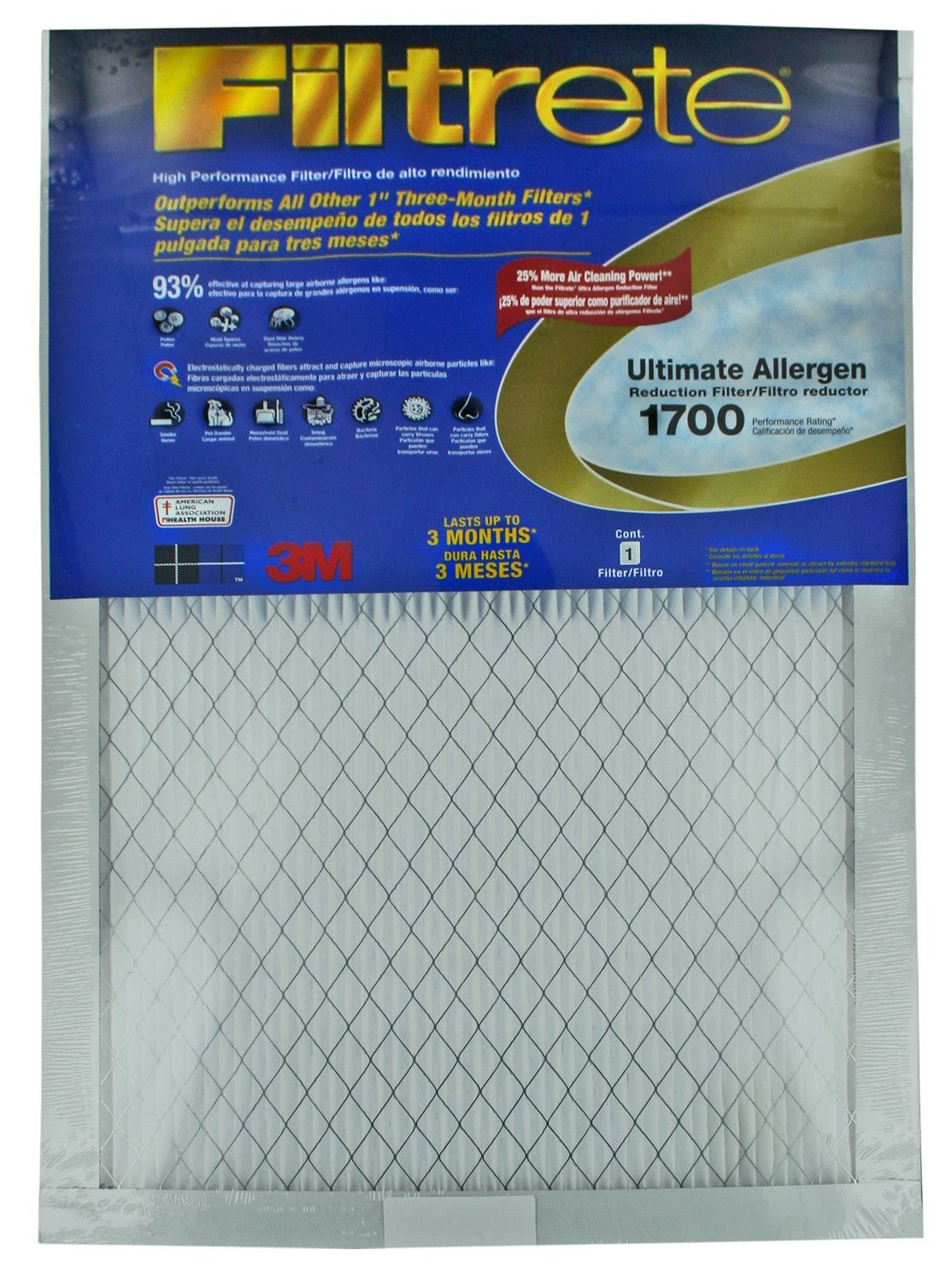 Fltr Ult Algn 16X25 Air filter, Filters, Air purifier