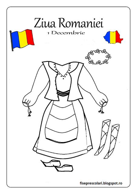 Planse de colorat si fise pentru copii: FISE de colorat