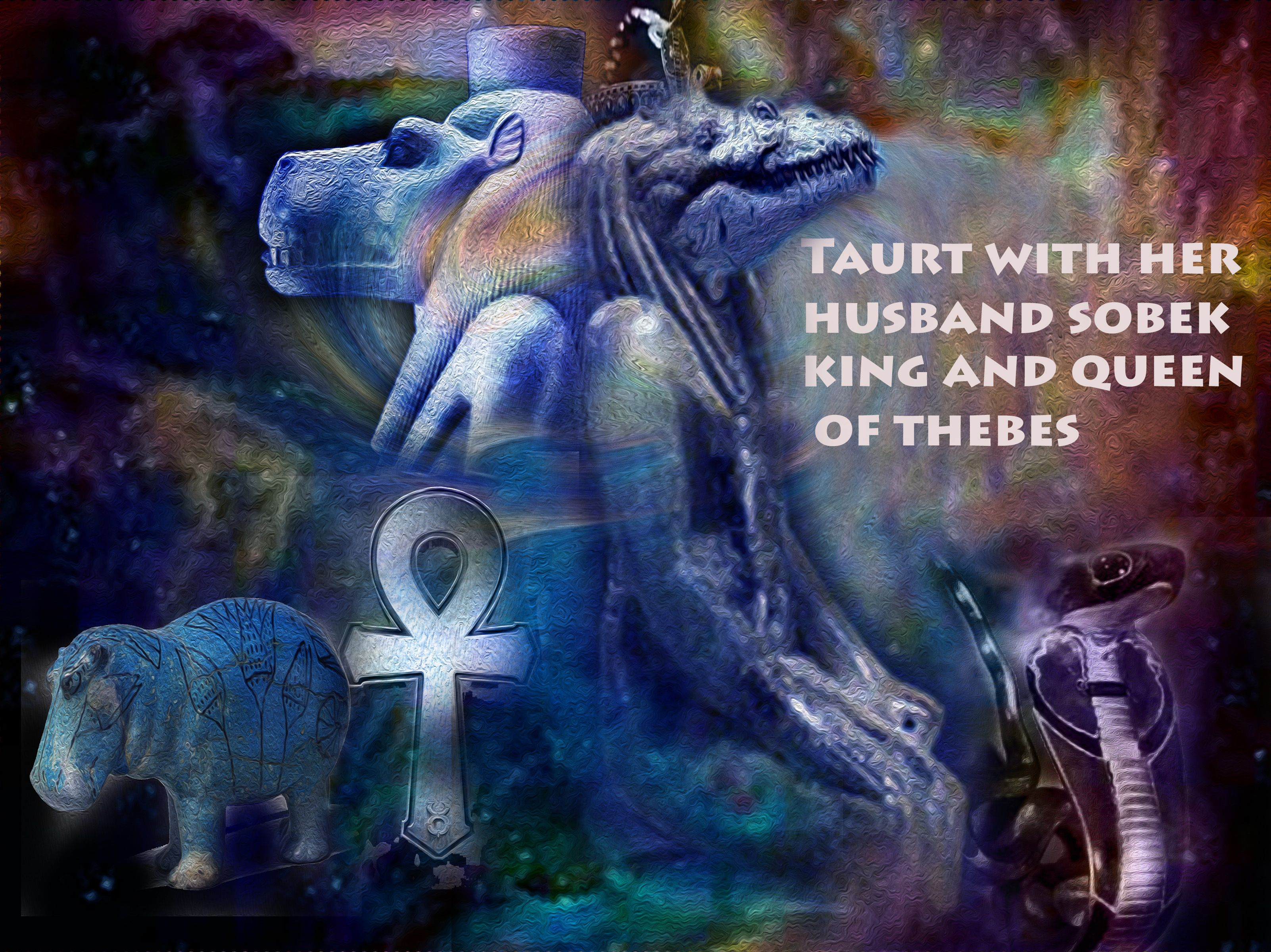 King And Queen Of Thebes Thebes Myths Mystery