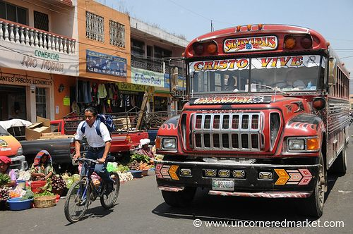 Chicken Bus - Guatemala
