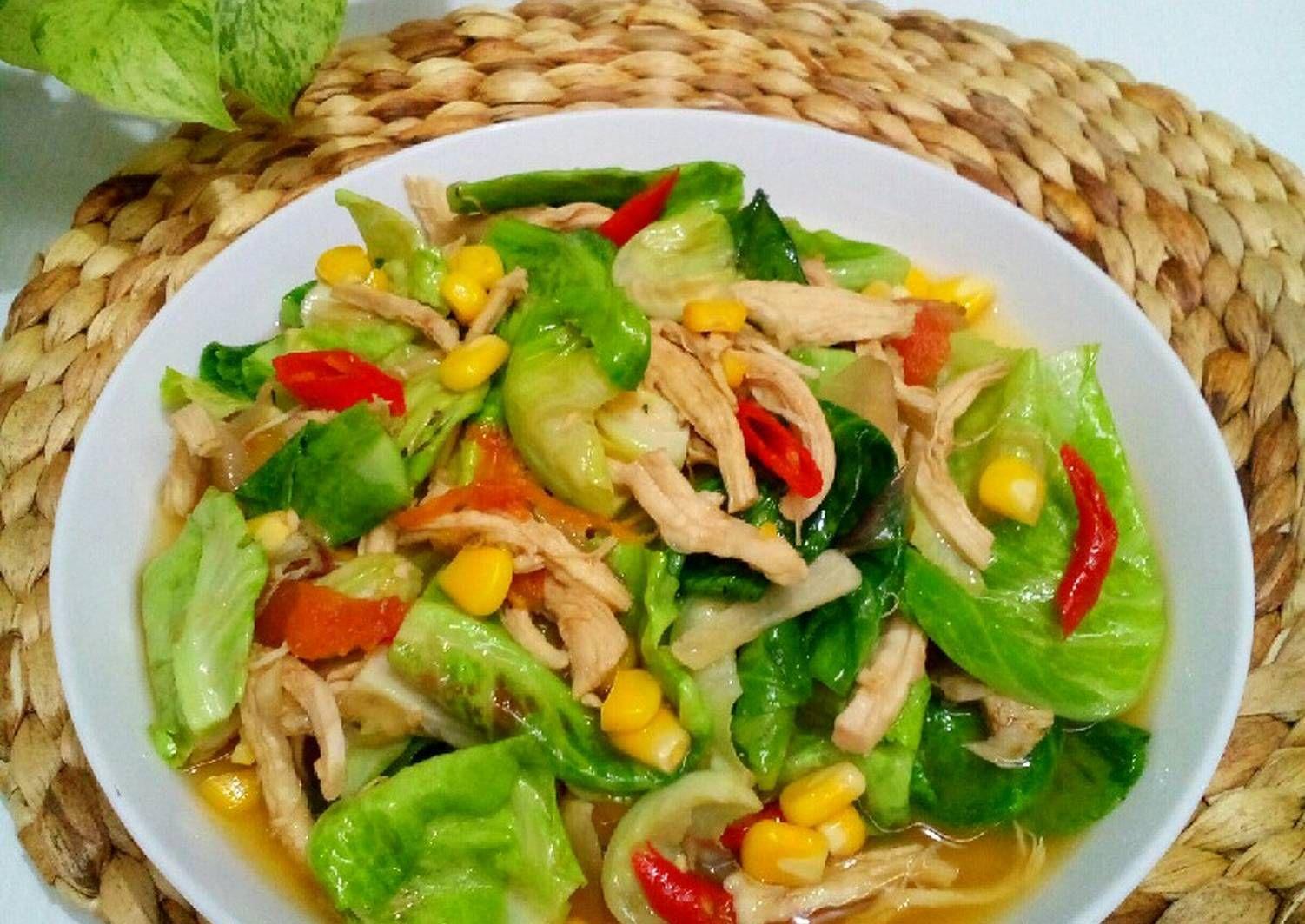 Resep Cuciwis Tumis Ayam Suwir Recipe In 2020 Food Chicken Meat