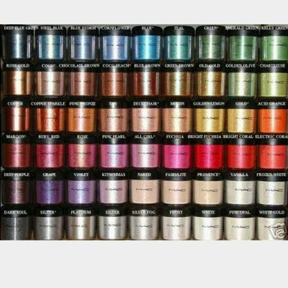ISO -Authentic Mac Pigments in all colors:) I'm open to ...