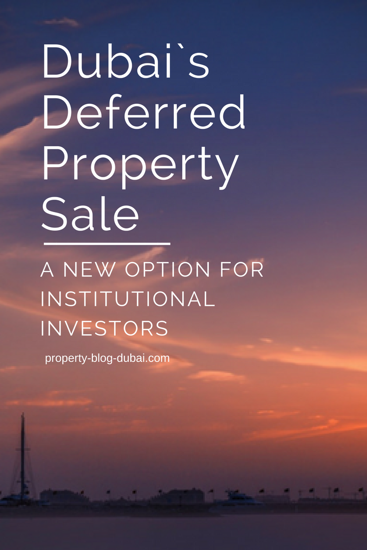 Deferred sale of property is an interesting