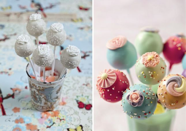 {Wedding Trends} : Cake Pops - Belle the Magazine . The Wedding Blog For The Sophisticated Bride