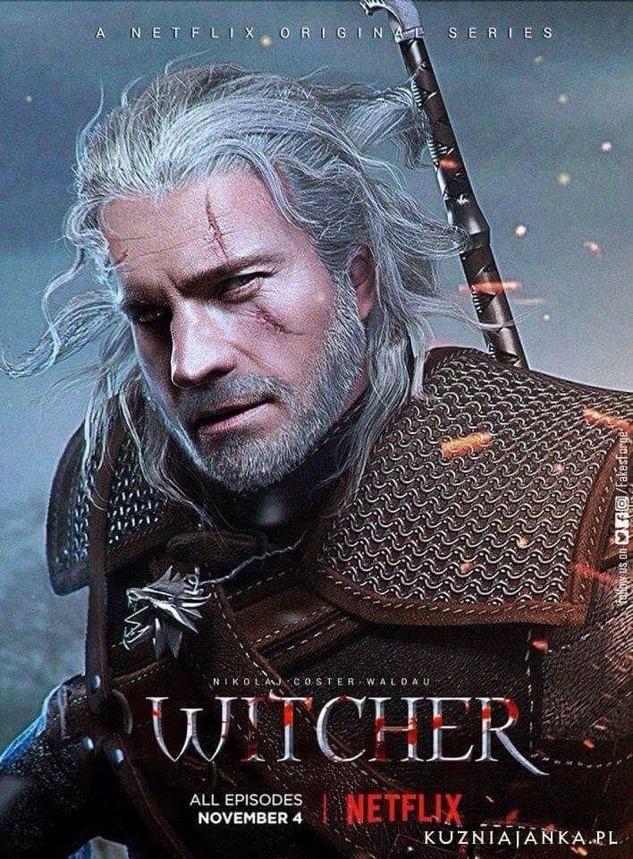 Fan made poster for the upcoming Netflix Witcher series